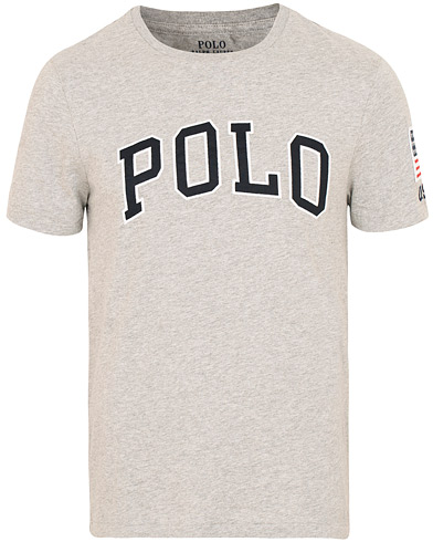 Polo Ralph Lauren Polo Crew Neck Tee Andover Heather i gruppen Kläder / T-Shirts / Kortärmade t-shirts hos Care of Carl (15291411r)