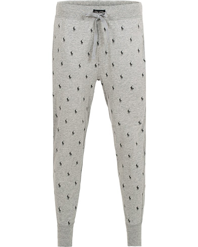 Polo Ralph Lauren Pony Sweatpants Andover Heather i gruppen Kläder / Pyjamas & Morgonrockar / Pyjamas / Pyjamasbyxor hos Care of Carl (15293911r)
