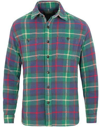 Polo Ralph Lauren Western Flannel Shirt Navy i gruppen Tøj / Skjorter / Casual / Flannelskjorter hos Care of Carl (15297111r)
