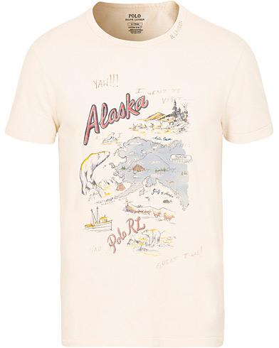 Polo Ralph Lauren Alaska Tee White i gruppen Kläder / T-Shirts / Kortärmade t-shirts hos Care of Carl (15297511r)