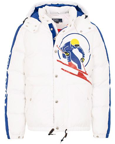 Polo Ralph Lauren Skier Down Jacket White i gruppen Klær / Jakker / Dunjakker hos Care of Carl (15299011r)