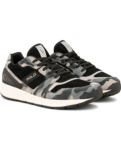 Polo Ralph Lauren Train 100 Running Sneaker Black Camo i gruppen Sko / Sneakers / Running sneakers hos Care of Carl (15300811r)