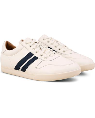 Polo Ralph Lauren Camilo Leather Sneaker White i gruppen Sko / Sneakers / Sneakers med lavt skaft hos Care of Carl (15301111r)