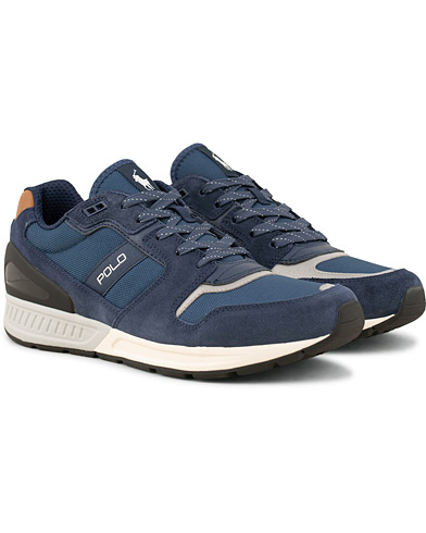 Polo Ralph Lauren Train 100 Mesh Running Sneaker Navy i gruppen Sko / Sneakers / Running sneakers hos Care of Carl (15302111r)