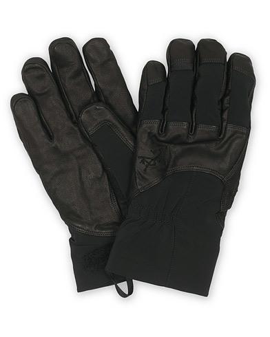 Arc'teryx Teneo Leather Gloves Black i gruppen Tilbehør / Handsker hos Care of Carl (15334211r)
