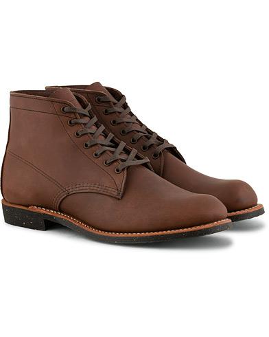 Red Wing Shoes Merchant Laced Boot Amber Harness Leather i gruppen Sko / Støvler / Snørestøvler hos Care of Carl (15351311r)