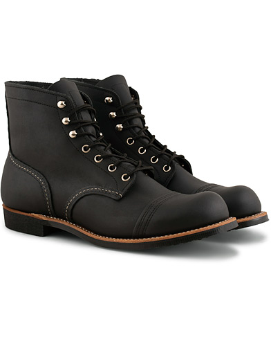Red Wing Shoes Iron Ranger Black Harness i gruppen Sko / Støvler / Snørestøvler hos Care of Carl (15351511r)