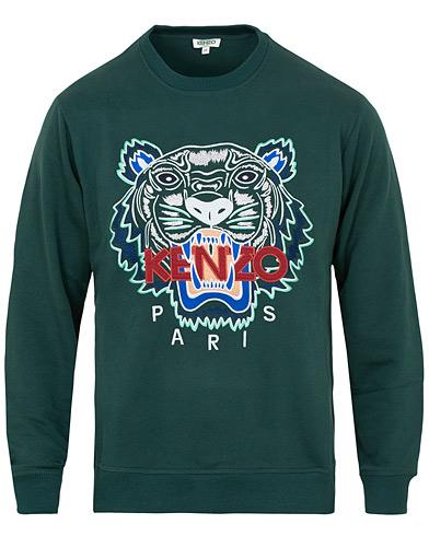KENZO Tiger Classic Sweatshirt Pine i gruppen Klær / Gensere / Sweatshirts hos Care of Carl (15361311r)