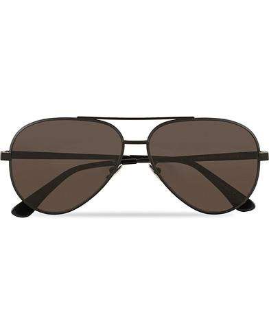 Saint Laurent CLASSIC 11 Sunglasses Black/Black  i gruppen Accessoarer / Solglasögon / Pilotsolglasögon hos Care of Carl (15400810)