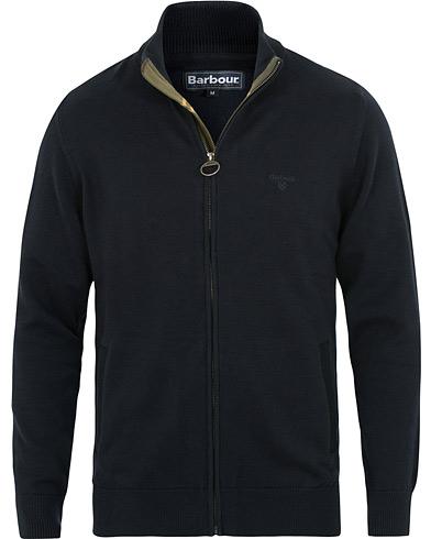 Barbour Lifestyle Cotton Full Zip Navy i gruppen Kläder / Tröjor / Zip-tröjor hos Care of Carl (15414711r)