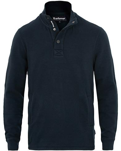 Barbour Lifestyle Albacore Half Snap Navy i gruppen Klær / Gensere / Sweatshirts hos Care of Carl (15415011r)