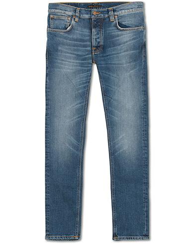 Nudie Jeans Tilted Tor Organic Jeans Mid Authentic Orange i gruppen Kläder / Jeans hos Care of Carl (15417011r)