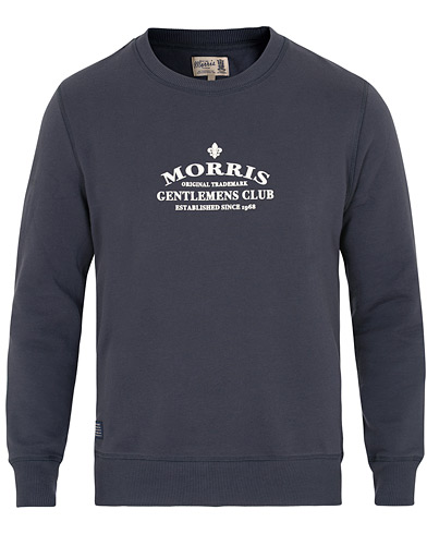 Morris Walker Sweatshirt Navy i gruppen Kläder / Tröjor / Sweatshirts hos Care of Carl (15421311r)