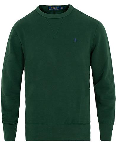 Polo Ralph Lauren Magic Fleece Crew Neck Sweatshirt Green i gruppen Klær / Gensere / Sweatshirts hos Care of Carl (15431311r)