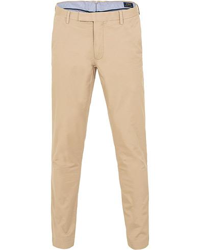 Polo Ralph Lauren Tailored Slim Fit Stretch Hudson Chinos Classic Khaki i gruppen Klær / Bukser / Chinos hos Care of Carl (15433411r)