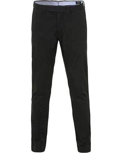 Polo Ralph Lauren Tailored Slim Fit Stretch Hudson Chinos Black i gruppen Klær / Bukser / Chinos hos Care of Carl (15433611r)