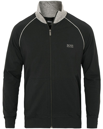Boss Loungewear Full Zip Black i gruppen Kläder / Tröjor / Zip-tröjor hos Care of Carl (15440511r)