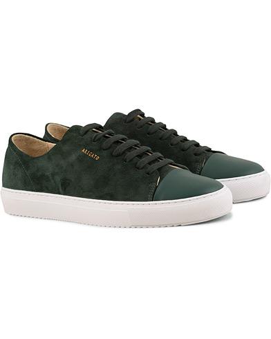 Axel Arigato Cap Toe Sneaker Green Suede i gruppen Sko / Sneakers / Sneakers med lavt skaft hos Care of Carl (15460411r)