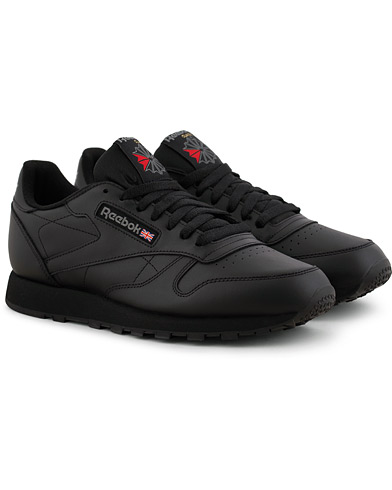 Reebok CL LTHR Running Sneaker Black i gruppen Skor / Sneakers hos Care of Carl (15485111r)