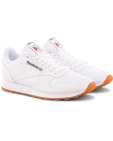 Reebok CL LTHR Running Sneaker White i gruppen Sko / Sneakers hos Care of Carl (15485211r)