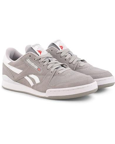 Reebok Phase 1 Pro Mu Low Sneaker Grey Suede i gruppen Sko / Sneakers hos Care of Carl (15485311r)