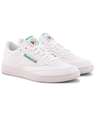 Reebok Club C85 Sneaker White/Green i gruppen Skor / Sneakers hos Care of Carl (15485711r)
