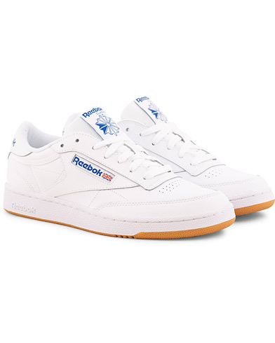 Reebok Club C85 Sneaker White/Royal i gruppen Skor / Sneakers hos Care of Carl (15485811r)