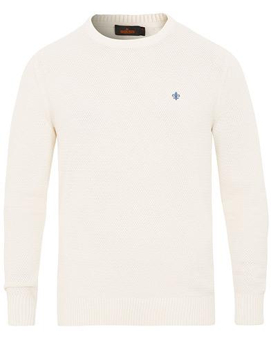 Morris Walter O-Neck White i gruppen Kläder / Tröjor / Stickade tröjor hos Care of Carl (15503011r)
