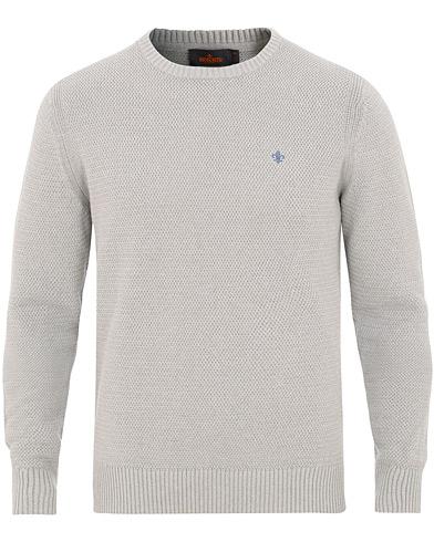 Morris Walter O-Neck Grey i gruppen Kläder / Tröjor / Stickade tröjor hos Care of Carl (15503111r)