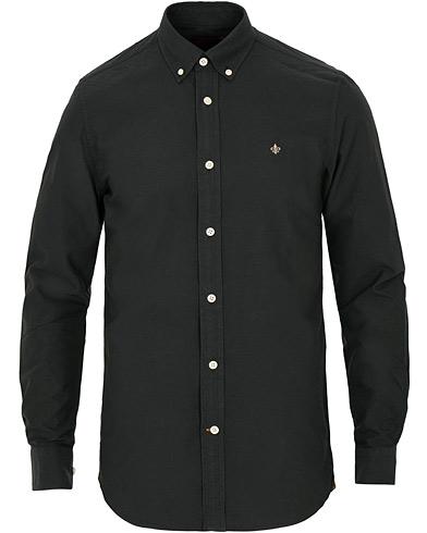 Morris Douglas Oxford Shirt Black i gruppen Tøj / Skjorter / Casual / Oxfordskjorter hos Care of Carl (15507411r)