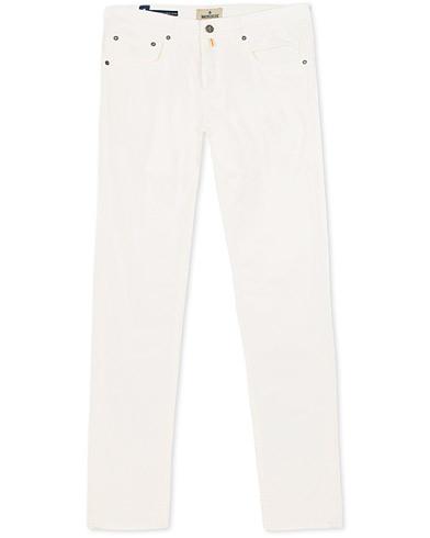 Morris James Textured Jeans Off White i gruppen Klær / Bukser / 5-lommersbukser hos Care of Carl (15510411r)