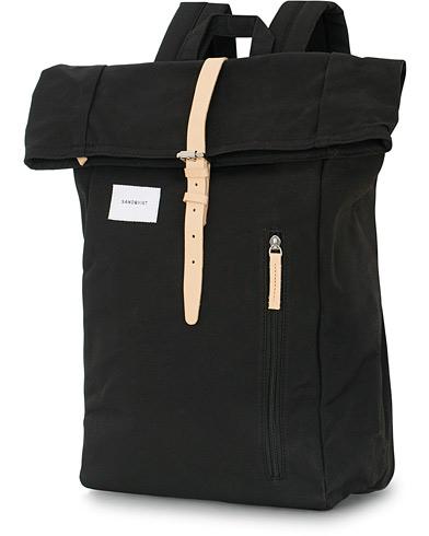 Sandqvist Dante Backpack Black  i gruppen Assesoarer / Vesker / Ryggsekker hos Care of Carl (15521410)