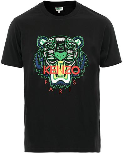 Kenzo Tiger T-shirt Black i gruppen Kläder / T-Shirts / Kortärmade t-shirts hos Care of Carl (15522011r)