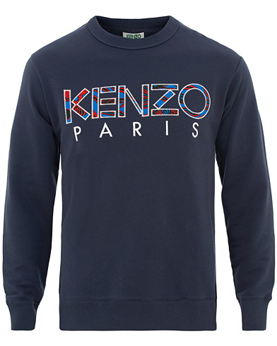 Kenzo Paris Sweatshirt Navy i gruppen Kläder / Tröjor / Sweatshirts hos Care of Carl (15523811r)