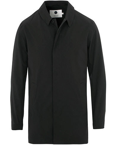 NN07 Tyler Coat Black i gruppen Tøj / Jakker / Frakker hos Care of Carl (15526711r)