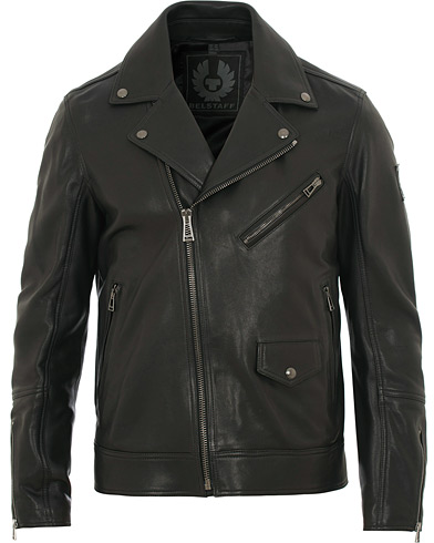 Belstaff Fenway Leather Jacket Black i gruppen Klær / Jakker / Skinnjakker hos Care of Carl (15533311r)