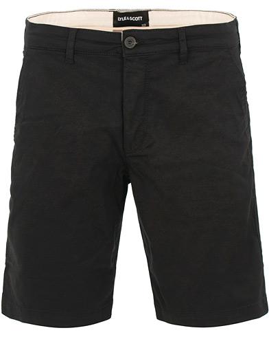 Lyle & Scott Chino Shorts True Black i gruppen Tøj / Shorts / Chino shorts hos Care of Carl (15547311r)