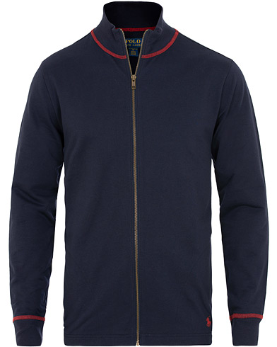 Polo Ralph Lauren Full Zip Sweater Navy i gruppen Tøj / Trøjer / Zip-trøjer hos Care of Carl (15580411r)