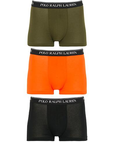 Polo Ralph Lauren 3-Pack Stretch Trunk Orange/Green/Black i gruppen Tøj / Undertøj / Boxershorts hos Care of Carl (15581511r)