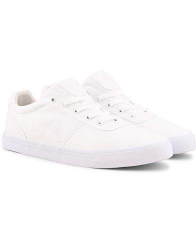 Polo Ralph Lauren Hanford Canvas Sneaker Pure White i gruppen Sko / Sneakers / Sneakers med lavt skaft hos Care of Carl (15581711r)