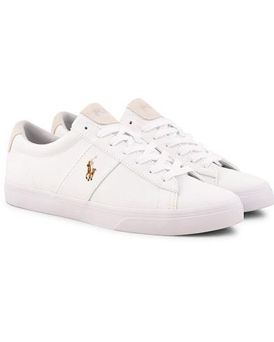 Polo Ralph Lauren Sayer Canvas Sneaker White i gruppen Sko / Sneakers / Sneakers med lavt skaft hos Care of Carl (15583411r)
