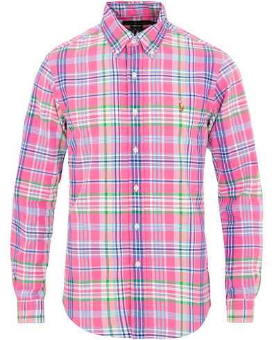Polo Ralph Lauren Slim Fit Check Shirt Horizon Pink i gruppen Klær / Skjorter / Casual / Casual skjorter hos Care of Carl (15595511r)