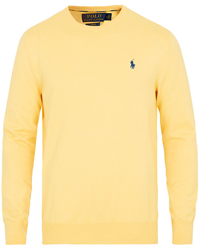 Polo Ralph Lauren Pima Cotton Pullover Fall Yellow i gruppen Kläder / Tröjor / Pullovers hos Care of Carl (15613511r)