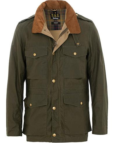 Barbour Lifestyle Lightweight Orel Wax Jacket Archive Olive i gruppen Klær / Jakker / Voksede jakker hos Care of Carl (15620011r)