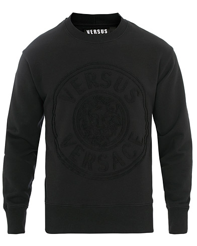 Versus Versace Logo Sweatshirt Black i gruppen Kläder / Tröjor / Sweatshirts hos Care of Carl (15627211r)