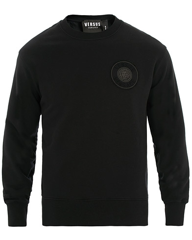 Versus Versace Chest Logo Sweatshirt Black i gruppen Kläder / Tröjor / Sweatshirts hos Care of Carl (15627311r)