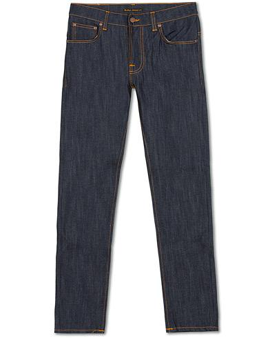 Nudie Jeans Thin Finn Organic Jeans Dry Ecru i gruppen Tøj / Jeans hos Care of Carl (15679111r)