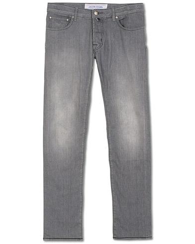 Jacob Cohën 622 Slim Fit Jeans Grey i gruppen Kläder / Jeans hos Care of Carl (15723211r)