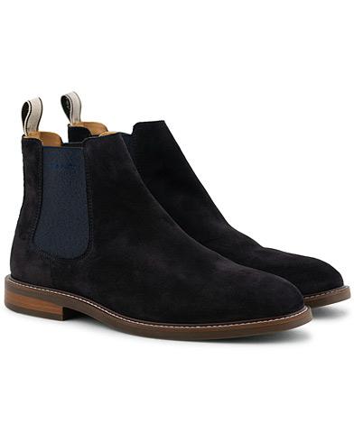 GANT Ricardo Chelsea Boot Marine Suede i gruppen Skor / Kängor / Chelsea boots hos Care of Carl (15739711r)