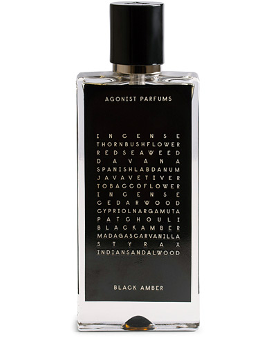 AGONIST Black Amber Perfume 50ml   i gruppen Assesoarer / Parfyme hos Care of Carl (15750910)